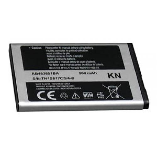 Acumulator Samsung AB463651B Li-Ion pentru telefon Samsung Chat 322 DUOS, C3510 Corby Pop, C3510 Genoa, Cara, Corby 3G, Corby Wifi, CorbyPlus B3410, C3200 Monte Bar