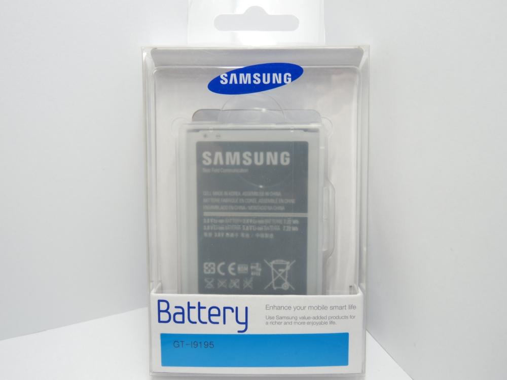 Acumulator Samsung Eb-b500bebecww Li-ion Blister Pentru Telefon Samsung Galaxy S4 Mini I9190/i9195  Galaxy S4 Mini Dual Sim I9192