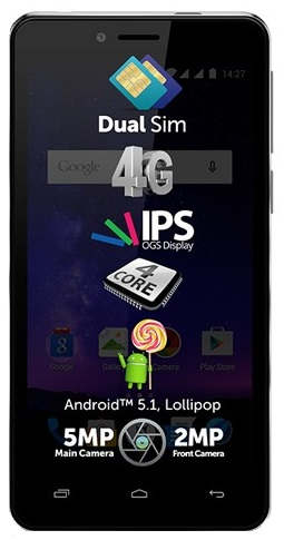 Allview A5 Quad Plus 4g Dual Sim Black