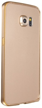 Husa Bumper Metal Auriu Pentru Telefon Samsung Gal