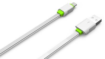 Cablu De Date Ldnio Ls01 Micro Usb Alb + Verde Blister