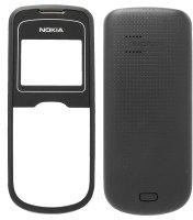 Carcasa telefon Nokia 1202 fata + spate negru