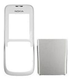 Carcasa Telefon Nokia 2630 Fata Alba + Capac Bater