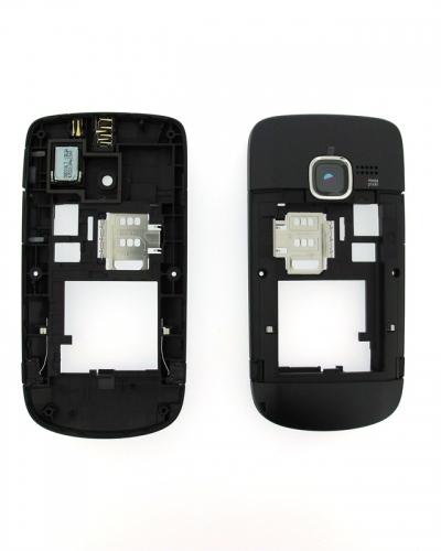 Carcasa telefon Nokia C3 mijloc/corp negru