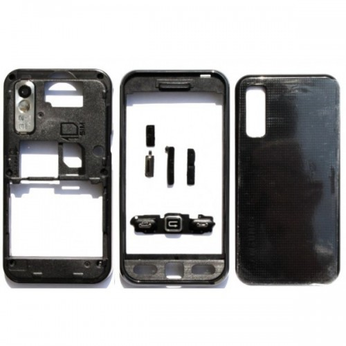 Carcasa telefon Samsung Star S5230 set complet negru