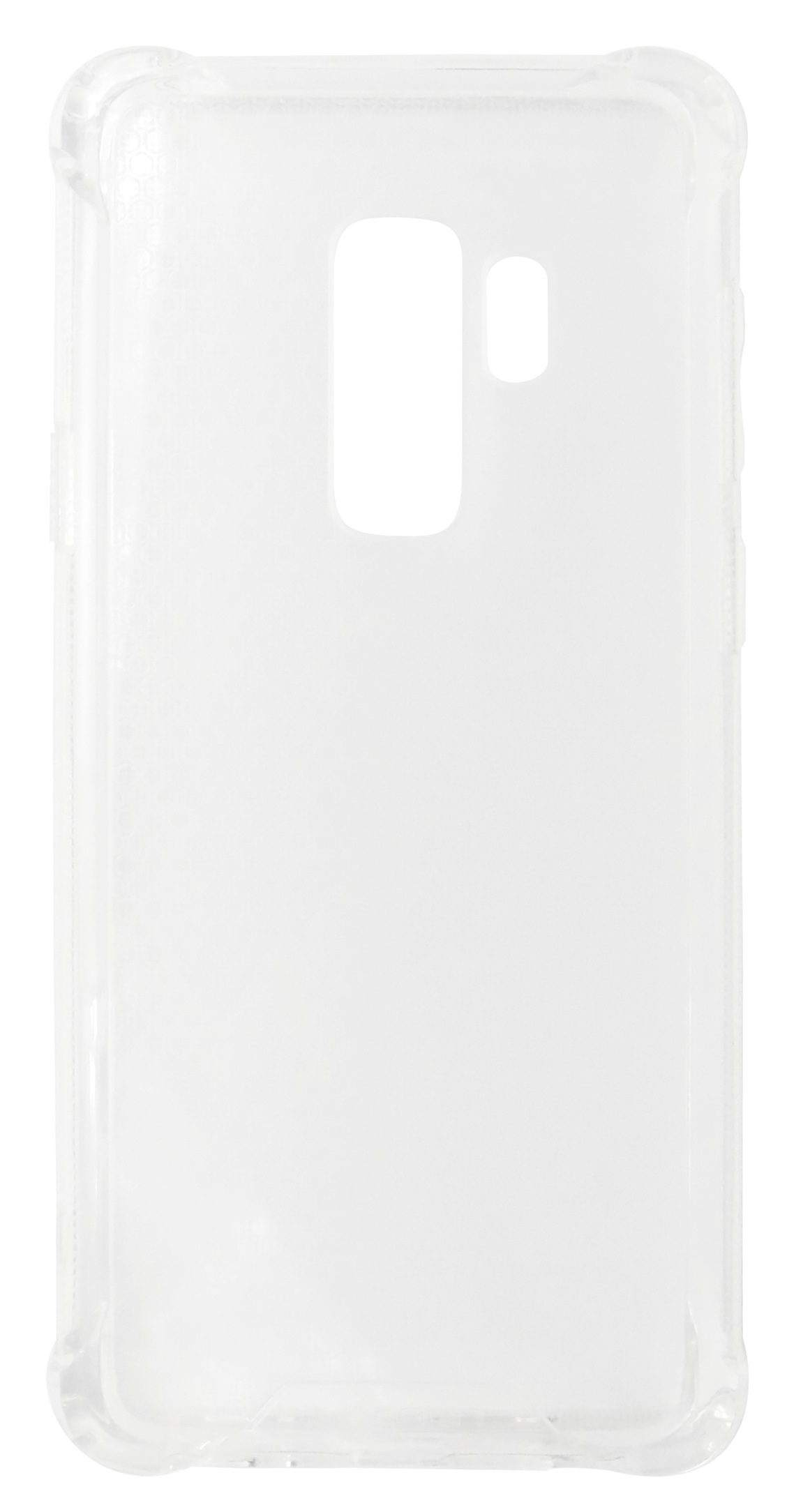 Husa tip capac spate Lensun cu colturi intarite plastic + silicon transparenta pentru Samsung Galaxy S9 Plus (G965)