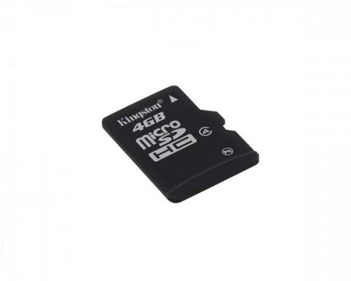 Card Memorie Kingston Microsdhc 4 Gb + Adaptor Sd Clasa 4