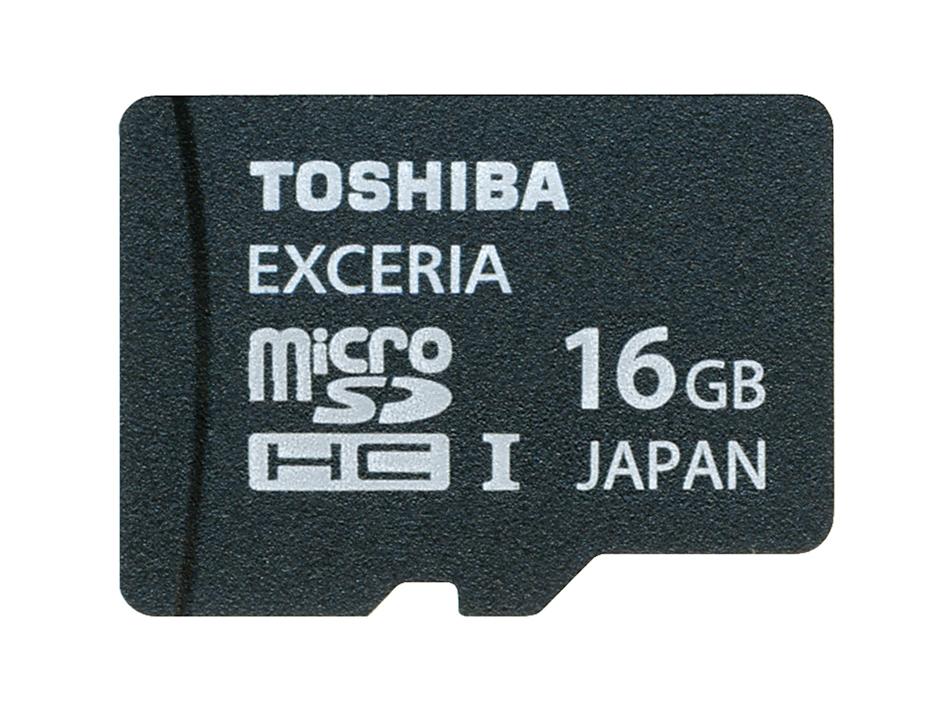 Card memorie Toshiba Exceria microSDHC tip HD 16 GB clasa 10