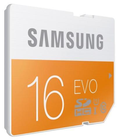 Card Memorie Samsung Evo Mb-mp16d/eu Microsdhc 16