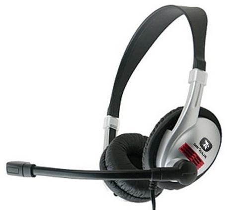 Casti Serioux Evo6600 Stereo Negru+argintiu Cu Microfon
