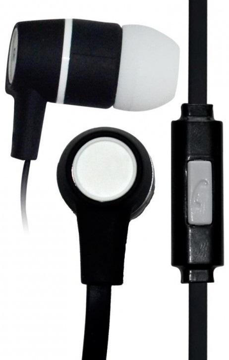 Handsfree (casti) stereo cu fir Vakoss SK-214K negru + alb