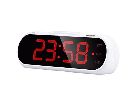 Ceas desteptator cu afisaj mare si extra alarma Fysic FC-240