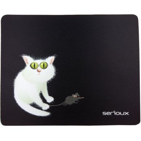 Mouse Pad Serioux Msp02 Cat And Mice (covoras) Pentru Mouse