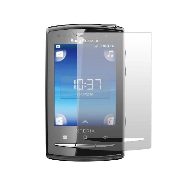 Folie plastic protectie ecran pentru Sony Ericsson Xperia X10 Mini Pro