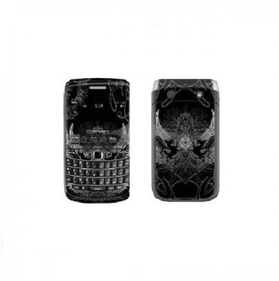 Folie protectie fata + spate (model 1) pentru BlackBerry Bold 9700