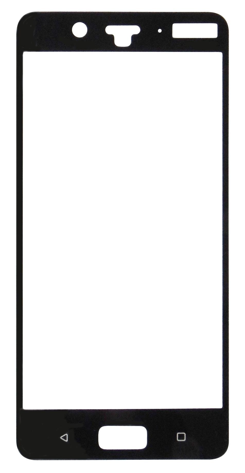 Folie sticla protectie ecran 5D Full Glue margini negre pentru Nokia 8