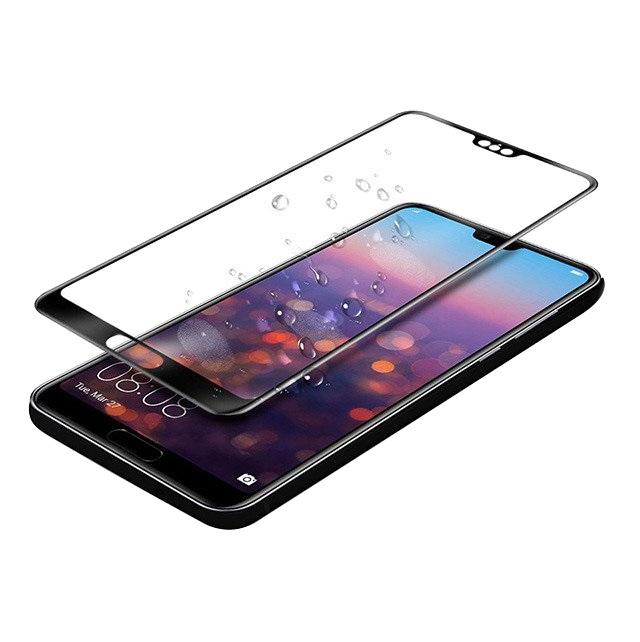 Folie sticla flexibila 3D Full Cover protectie ecran cu margini negre pentru Huawei P20 Pro
