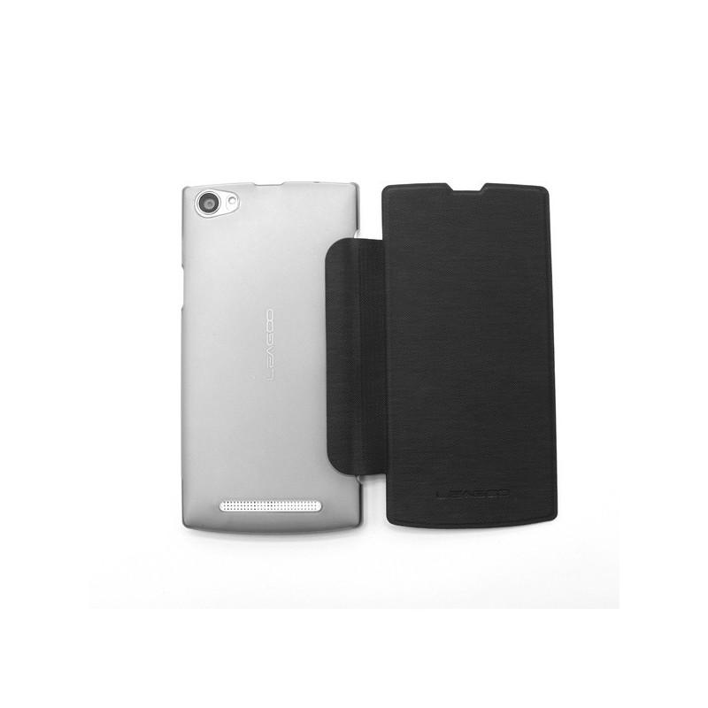 Husa Tip Carte Neagra Pentru Telefonul Leagoo Lead 7