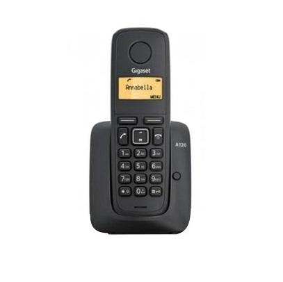 Telefon digital fara fir Gigaset Dect A120 Black