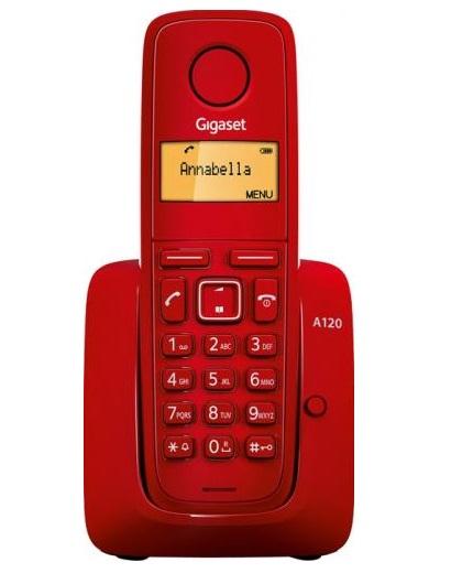 Telefon digital fara fir Gigaset Dect A120 Red