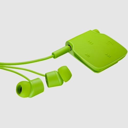 Handsfree Bluetooth Nokia Bh-111 Stereo Green Pentru Dispozitive Cu Bluetooth V2.1+edr