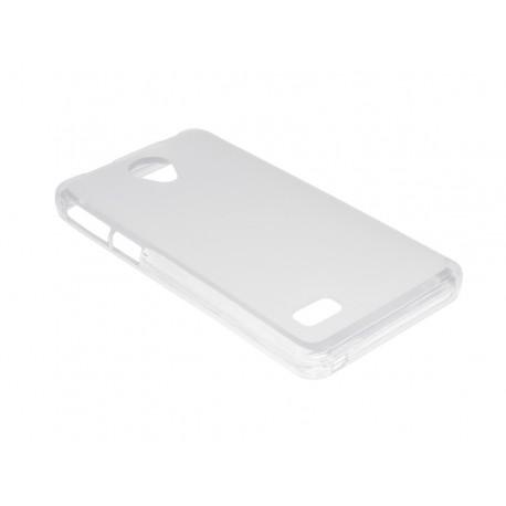 Husa Silicon Transparenta (cu Spate Mat) Pentru Telefon Allview A5 Quad Plus