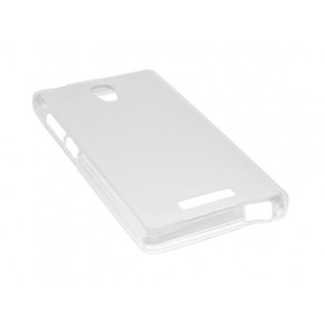 Husa Silicon Alba Pentru Telefon Allview P6 Energy Lite