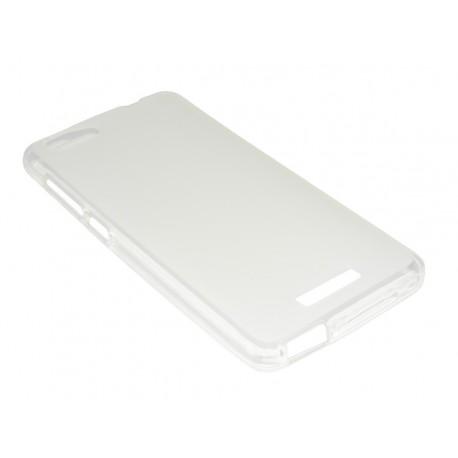 Husa Silicon Transparent (cu Spate Mat) Pentru Telefon Allview P8 Energy Mini