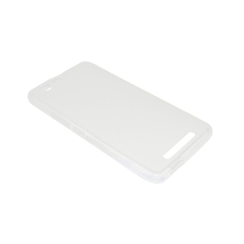 Husa Silicon Transparenta (cu Spate Mat) Pentru Te