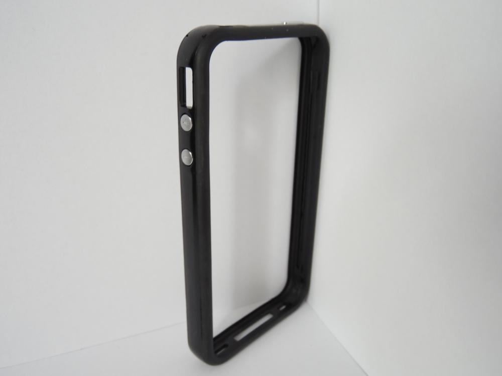 Husa Bumper Comfort Neagra Pentru Telefon Apple Ip