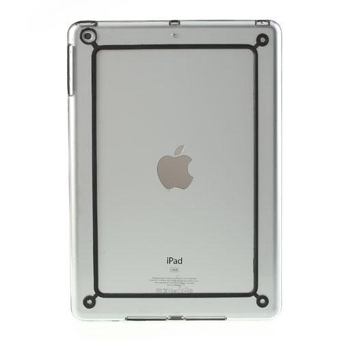 Husa Bumper Transparent+negru Pentru Tableta Apple