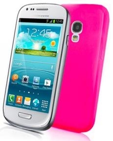 Husa Celly Gelskin280p Roz Pentru Telefon Samsung