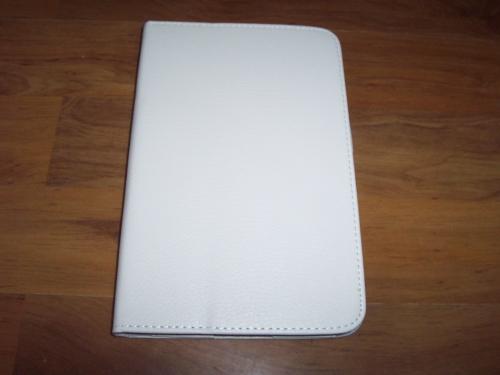 Husa Cu Stand Alba Pentru Tableta Samsung Galaxy T