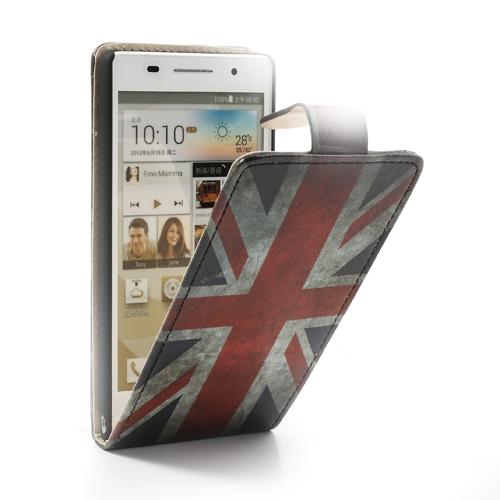 Husa Flip (model Uk) (mlc) Pentru Telefon Huawei A
