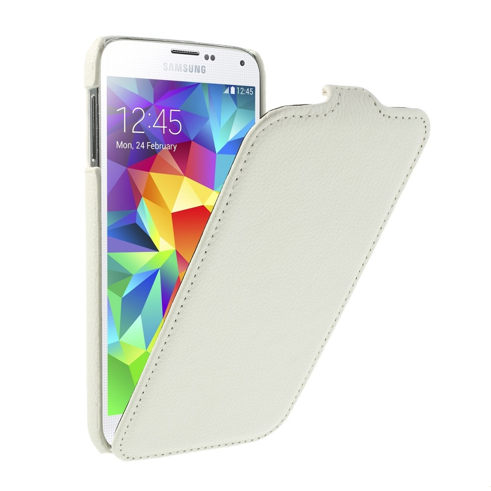 Husa Flip Alba (mlc) Pentru Telefon Samsung Galaxy