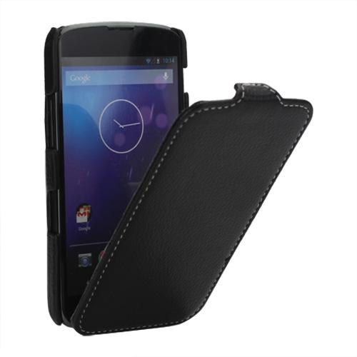 Husa Flip Neagra (mlc) Pentru Telefon Lg Google Ne