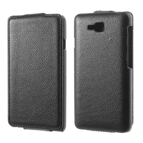 Husa Flip Neagra (mlc) Pentru Telefon Lg Optimus L