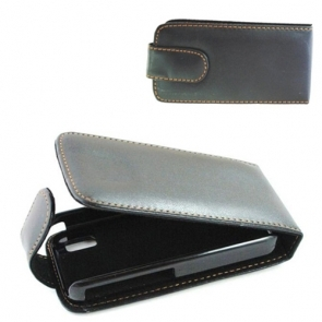 Husa Flip Neagra Pentru Telefon Nokia X3-02