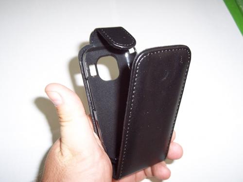 Husa Flip Telone Neagra Pentru Telefon Nokia C2-02