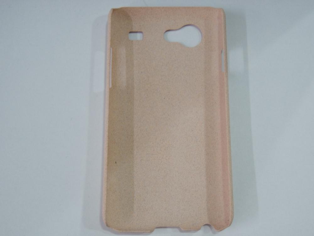 Husa Hard Plastic Bej (aspect Nisip) Pentru Telefo