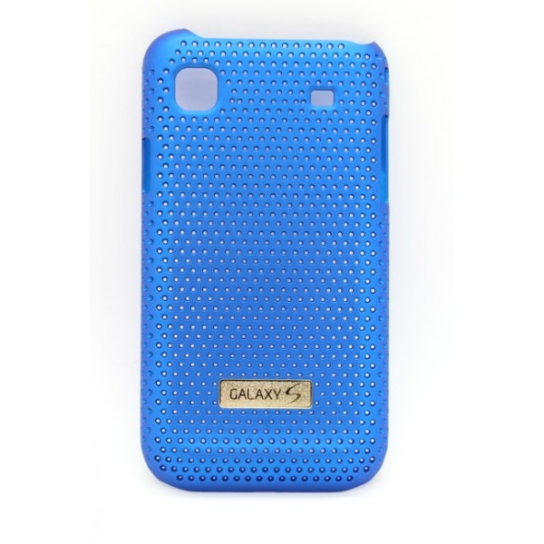 Husa Samsung Cool Case Tip Grila Albastra Pentru Telefon Samsung Galaxy S I9000 / Galaxy S Plus I9001