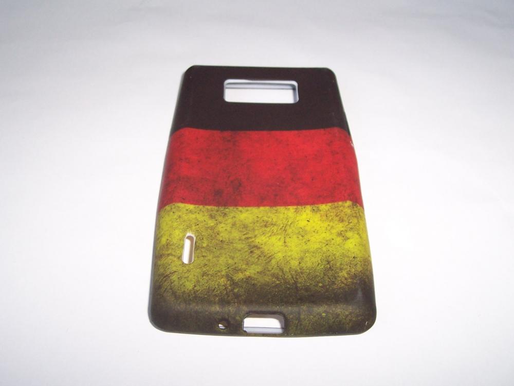 Husa Silicon (model Germany) Pentru Telefon Lg Opt