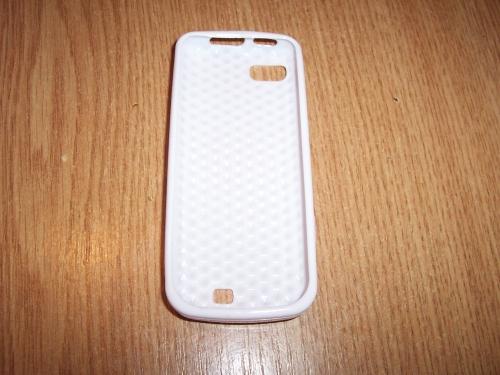 Husa Silicon Alba Pentru Telefon Nokia C3-01