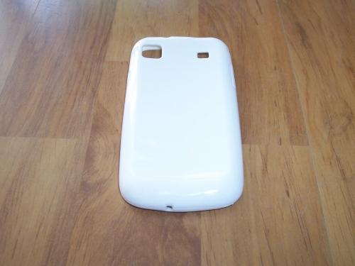 Husa Silicon Alba Pentru Telefon Samsung Galaxy S I9000 / Galaxy S Plus I9001