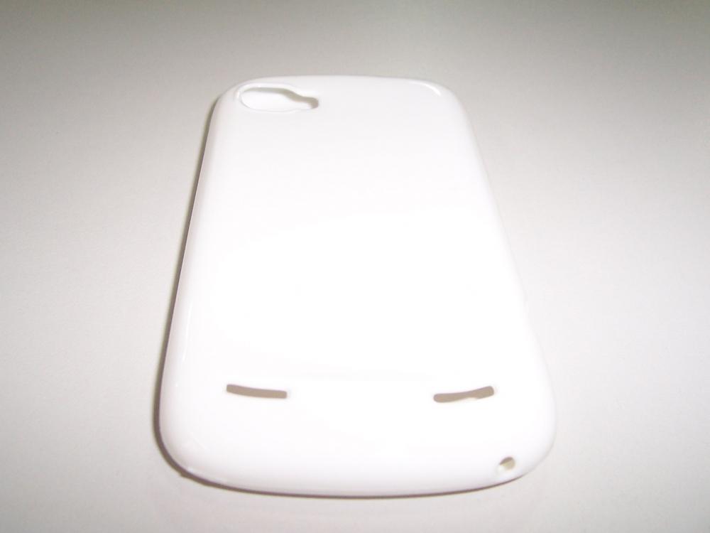 Husa Silicon Alba Pentru Telefon Zte Grand X In /