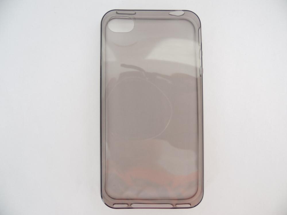 Husa Silicon Cauciucat Fumuriu Transparent Ultrasl