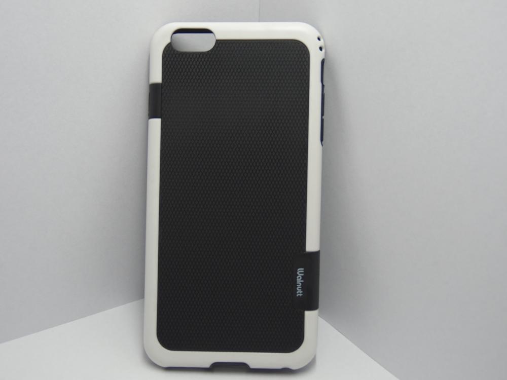 Husa Silicon Cauciucat Negru+alb Pentru Telefon Ap