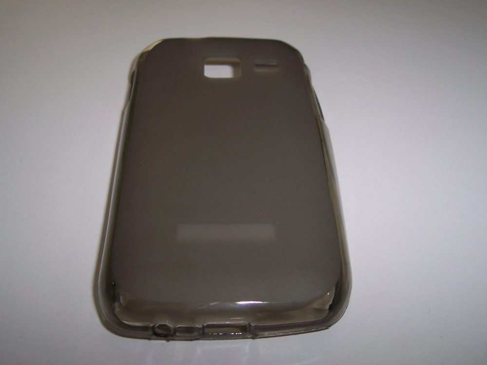 Husa Silicon Fumurie (cu Spate Mat) Pentru Telefon