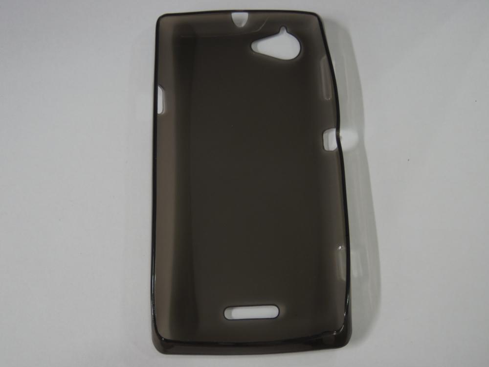 Husa Silicon Fumurie Pentru Telefon Sony Xperia L