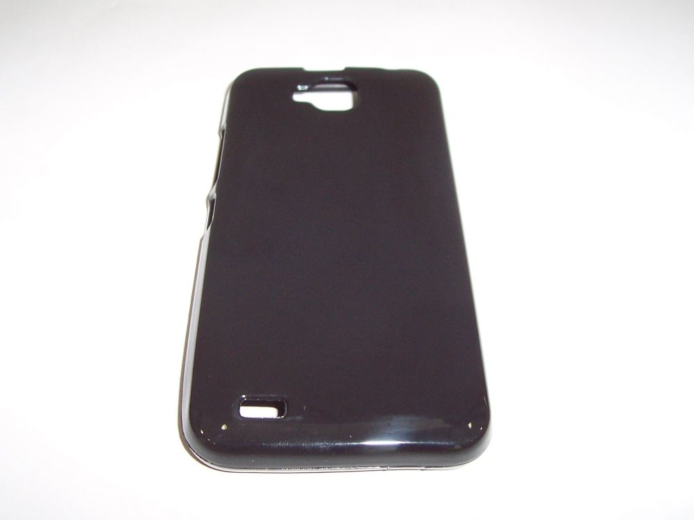 Husa Silicon Neagra (model 1) Pentru Telefon Allview P5 Quad